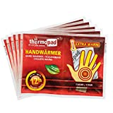 THERMOPAD Handwärmer – DAS ORIGINAL: 5 Paar Wärmepads für 12 Stunden Wärme...