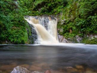 Allerheiligen Wasserfall im Schwarzwald
