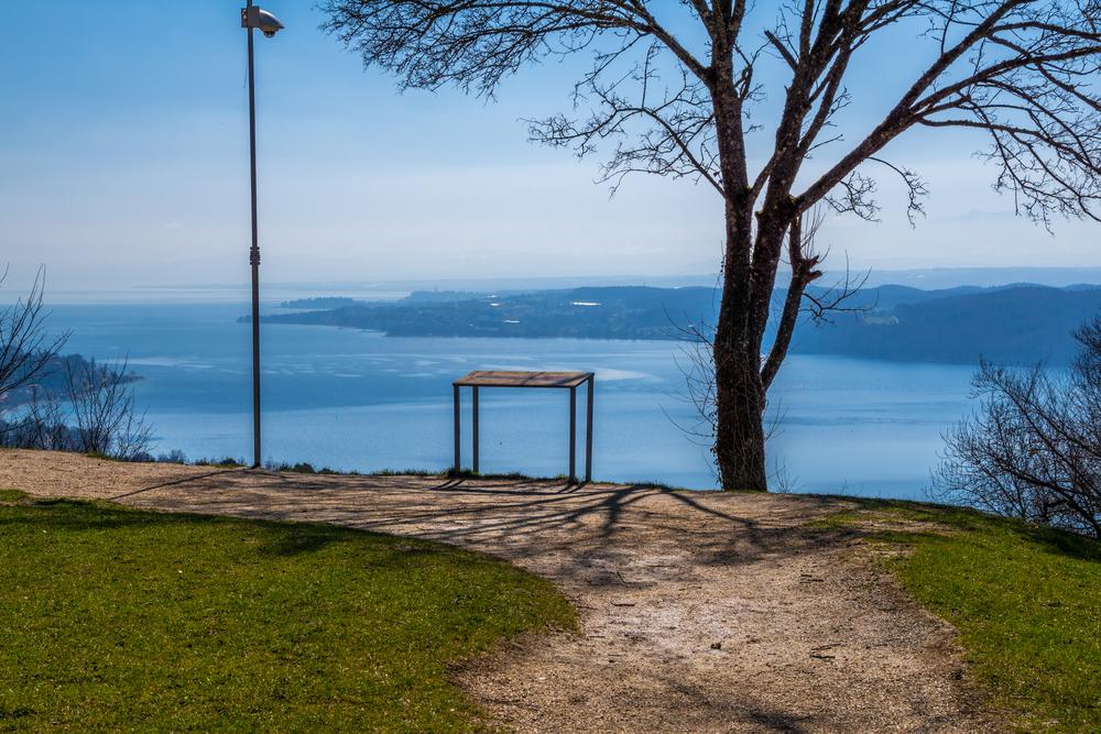Wanderweg mit Bodensee-Panorama