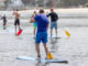 Stand Up Paddling in der Gruppe