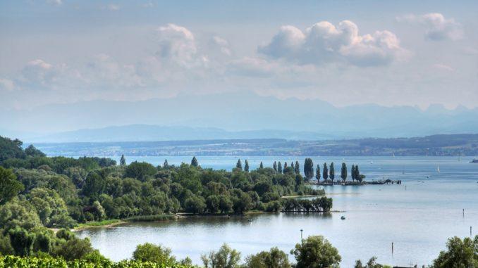 Lake Constanze / Bodensee bei Überlingen