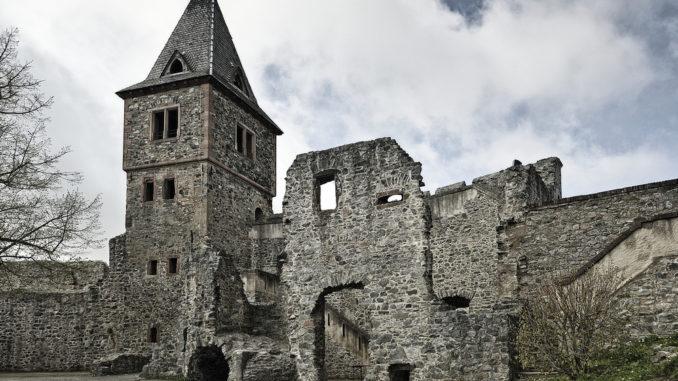 Burg Frankenstein im Odenwald