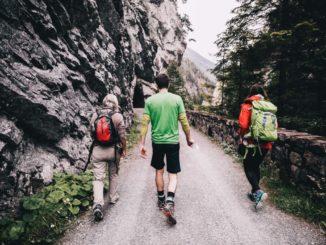 Wanderung durchs Gebirge